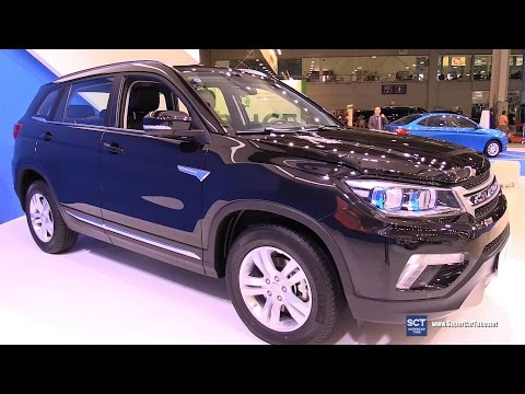 2016 Changan CS 75 AWD Blue Core Exterior and Interior Walkaround 2016 Moscow Automobile Salon