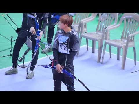 NCT Haechan Archery Skills @ 2018 ISAC [Idol Star Athletic Championships]
