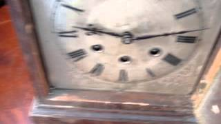 Antique Vintage Gustav Becker German Mantel Mantle Clock Spare  Repair See Video