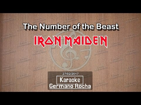 Iron Maiden - The Number Of The Beast (Karaoke)