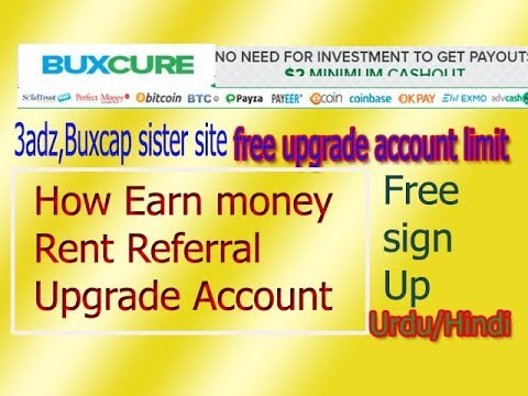 [Site Now Scam,Not Invest] | BUXCURE.COM |New PTC Site | Earn Money |RRs, View Ads,upgrade Account