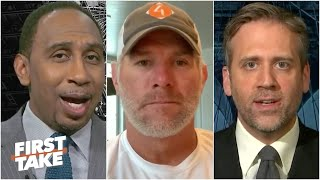 Brett Favre debates Stephen A. & Max on Patrick Mahomes, Aaron Rodgers & Carson Wentz | First Take