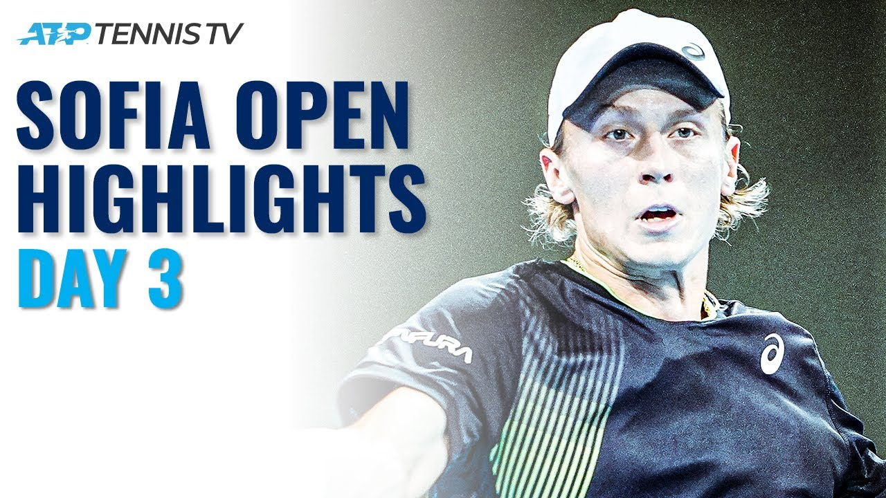 Krajinovic In Action; Ivashka, Andujar & Ruusuvuori Feature | Sofia Open 2021 Highlights Day 3