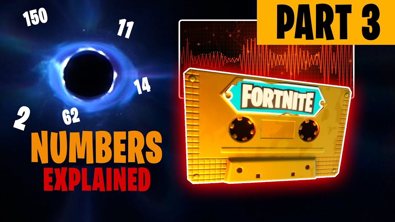 Part 3 Complete Black Hole Numbers Meaning Audio Recordings Fortnite Season 11 Downtime