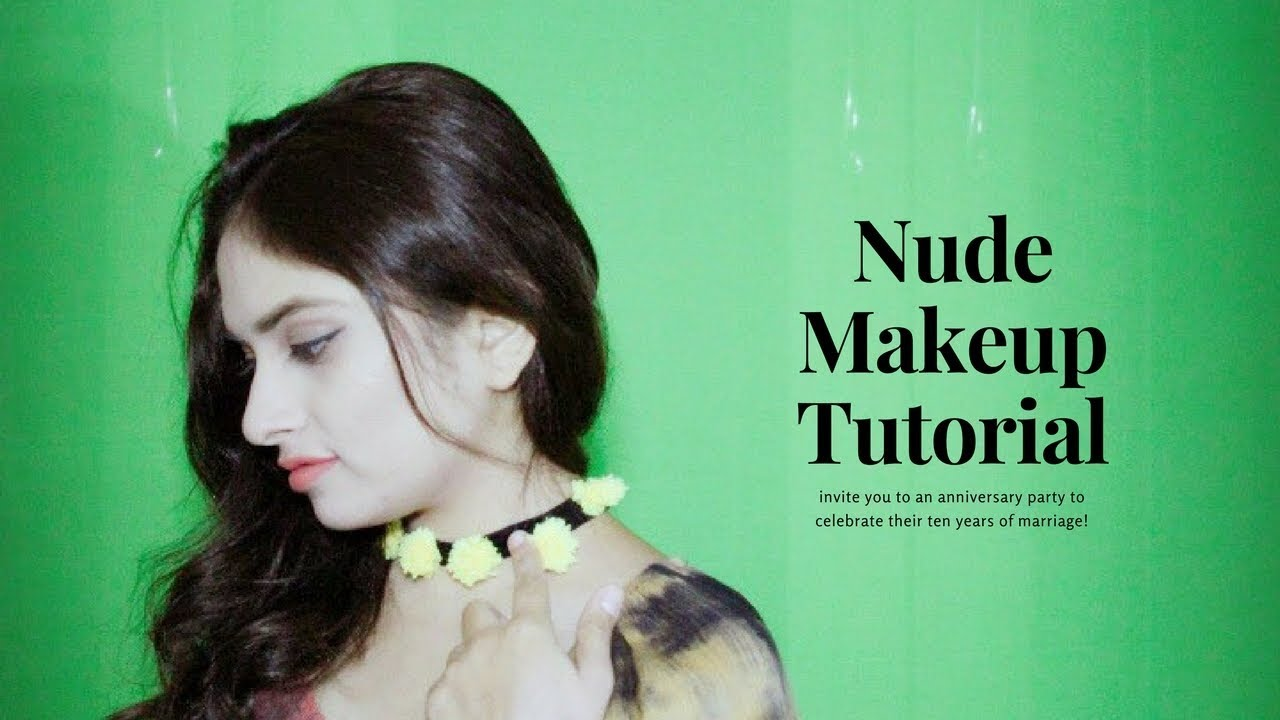 Nude Makeup Tutorial For Indian Skin+ Instagram Jewellery @Narvcollections