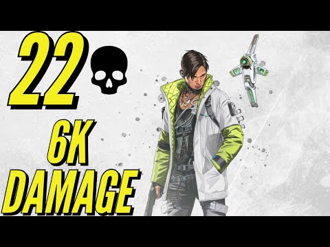 OVER 6K DAMAGE WITH CRYPTO – Apex Legends PS4