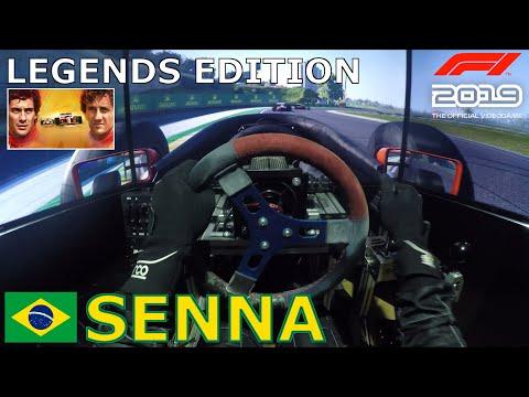 F1 2019 Legends Edition - Ayrton Senna + McLaren MP4/5B @ Brasil [Triple Screen Onboard] |
