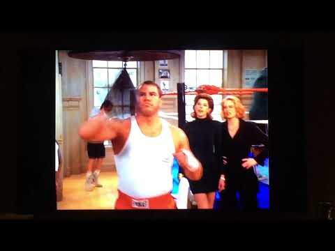 Tommy Morrison on Cybill Shepherd's TV Show