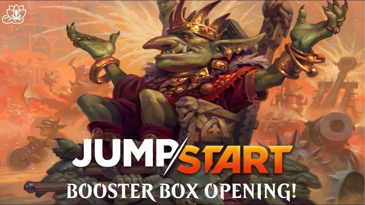 Garbage Fire Box of JUMPSTART! | August Commander Deck Giveaway!