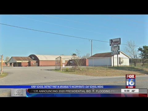 Kirby Schools Implement Four-Day School Week