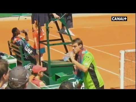 El pique entre Granollers y Joao Sousa.flv