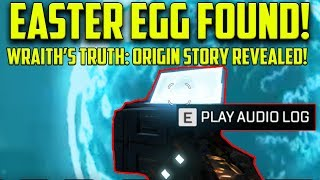 New Apex Legends Wraith Easter Egg! Hidden Audio Log Reveals FULL Origin Story! Wraith is a Pilot!