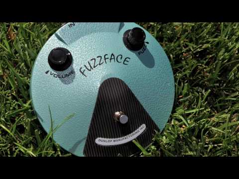 Guitar Effects Pedal Demo: Jimi Hendrix Fuzz Face JH-F1 / Bogner Ecstasy