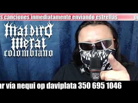 Tardes de maldito metal colombiano - 18-08-2020