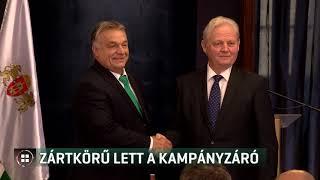 Tarlós István zártkörű kampányzáró sajtótájékoztatót tartott 19-10-12