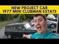 Next Project Reveal! 1977 Classic Mini....
