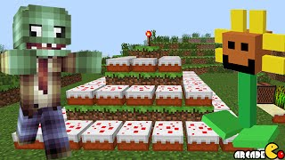 Minecraft Happy 6th Birthday Plants Vs Zombies 2 Birthday Cake Trap! Minecraft PVZ 2 Mod