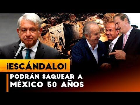MALAS NOTICIAS; FOX,CALDERÓN Y PEÑA DIERON PERMISO PARA QUE PUEDAN SAQUEAR A MÉXICO 50 AÑOS