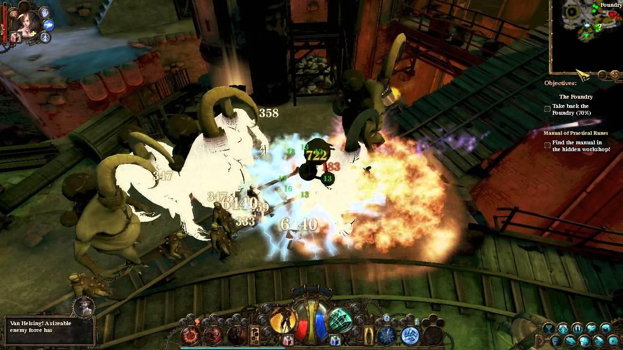 Adventures Of Van Helsing Final Cut van helsing: final cut - protector gameplay