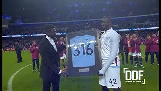 Football: Les adieux de Yaya Touré à Manchester City