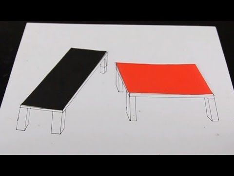 Crazy Tables Optical Illusion!   YouTube