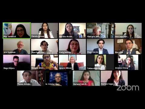 Conversatorio virtual #JóvenesFrenteAlCovid19