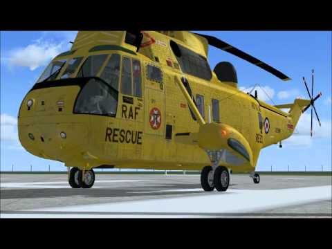 FSX RAF WESTLAND SEAKING - Please Read Description