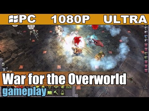 War for the Overworld gameplay HD [PC - 1080p] - Dungeon Management Game