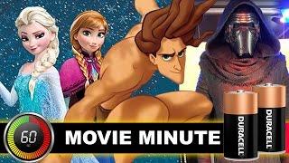 Tarzan is Elsa & Anna