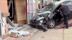Car slams into Jacksonville nail salon, at least 1 injured