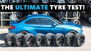 The ULTIMATE tyre test! These are the best UHP tires you can buy for your car!