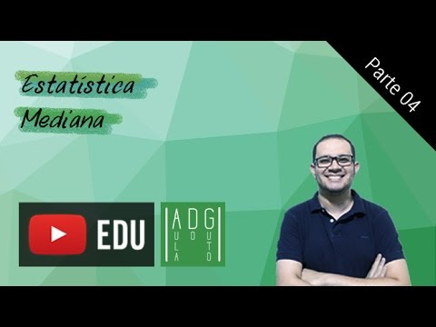 Estatística - #4/7 - Mediana | Aula do Guto
