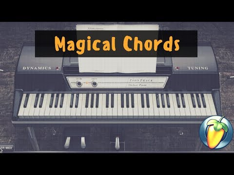 R&B Magical Chords  - J Cole Kevin's Heart Flip Using FL Studio with Scaler + EZ Keys