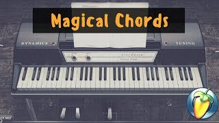 R&B Magical Chords - J Cole Kevins Heart Flip Using FL Studio with Scaler + EZ Keys