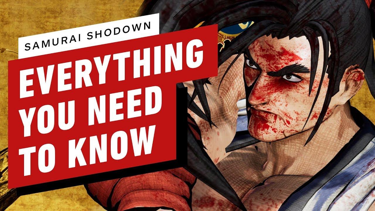 Alles, was Sie über Samurai Shodown wissen müssen + video