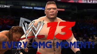 WWE 13 - How to perform Every OMG Moment (Spectacular moments Tutorial)
