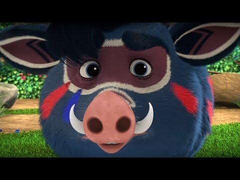 Лео и Тиг - Влюбленный Куба - Серия 25 - мультфильм для детей о жителях тайги