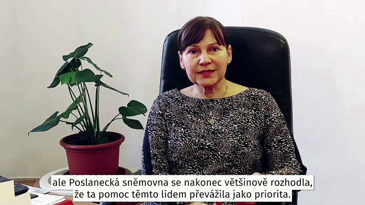 Miloslava Vostrá - Kompenzační bonus obcím - YouTube