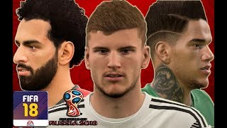 ⚽FIFA 18⚽ALL 47+ NEW FACES WORLD CUP DLC LAST UPDATE [1080p] FT Asensio,Ederson, Dembele