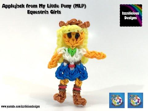 Rainbow Loom Applejack My Little Pony Equestria Girl  MLP