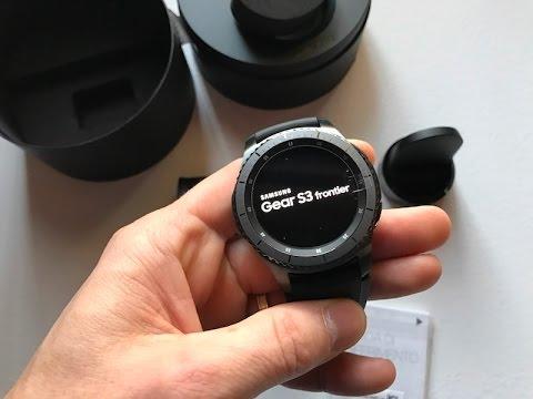 Samsung Gear S3 Frontier : Recensione