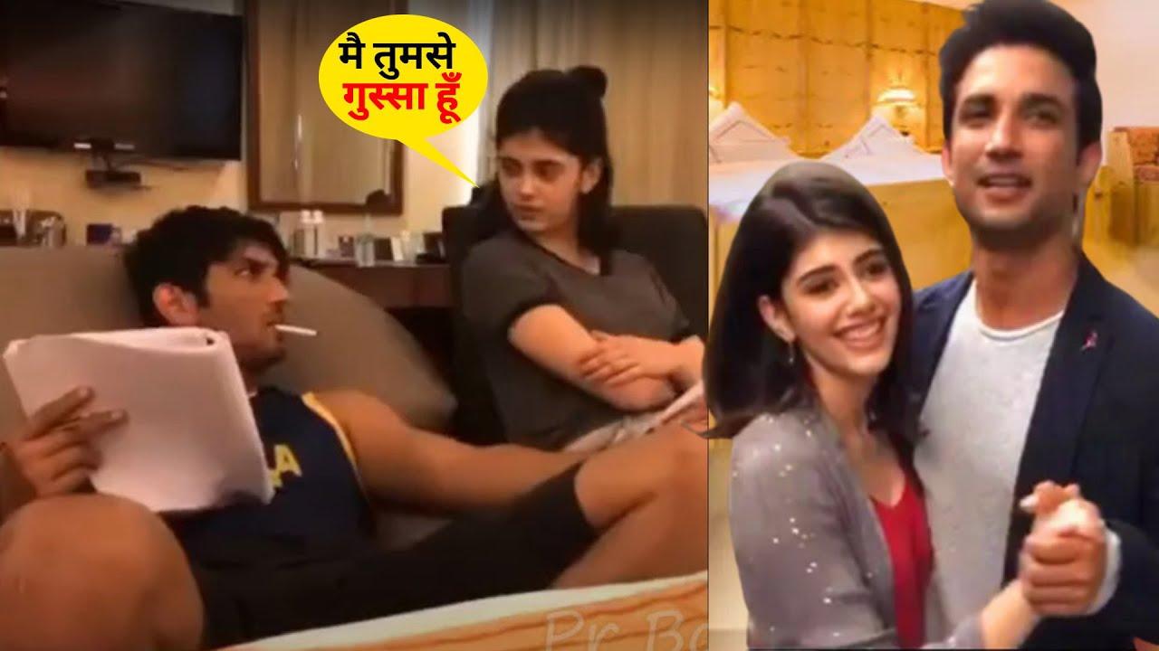 बैडरूम में अपनी हीरोइन के साथ मस्ती करते हुए Sushant Singh का ये वीडियो हो रहा है खूब वायरल