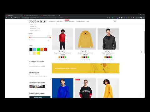 How to display banners on Category and Product pages in Coccinelle Magento 2 theme