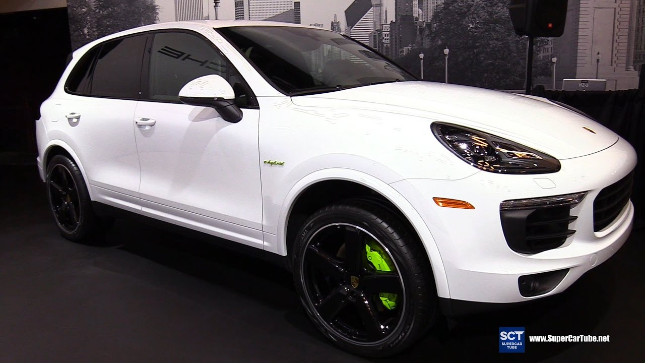 2017 porsche cayenne s e hybrid platinum exterior interior walkaround 2017 montreal auto. Black Bedroom Furniture Sets. Home Design Ideas