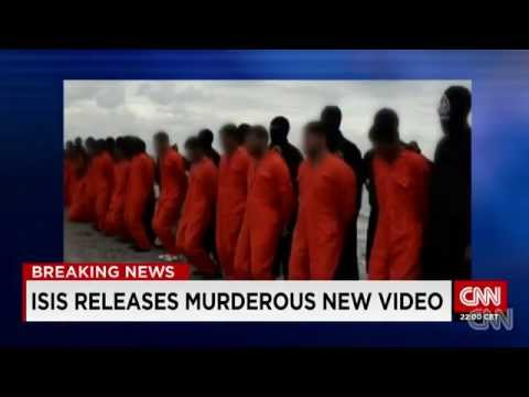 ISLAMIC STATE THUGS Behead TWENTY+ Egyptian Coptic Christians In Libya