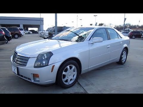 2003 Cadillac CTS Start Up, Engine, and In Depth Tour - YouTube