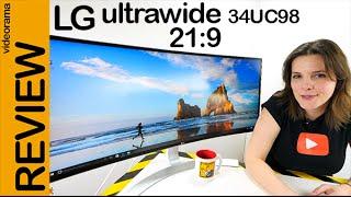 LG 34UC98 ultrawide 21:9 review en español   4K UHD