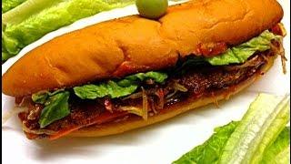 Fried fish sandwich Kerala Style