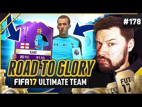 HARRY KANE POTM CARD! - #FIFA17 Road to Glory! #178 ultimate team