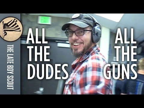 All the Dudes vs. All the Guns at Action Target